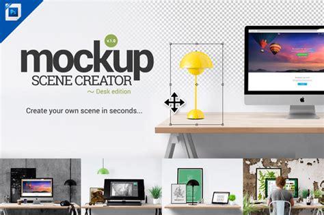 mockup creator desk edition