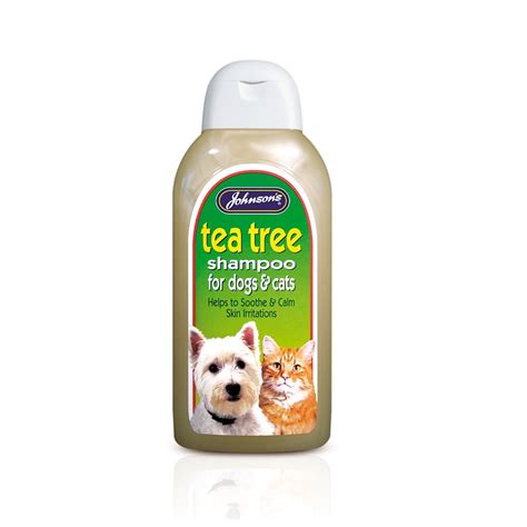 tea tree for dogs johnsons veterinary tea tree shoo 400ml feedem