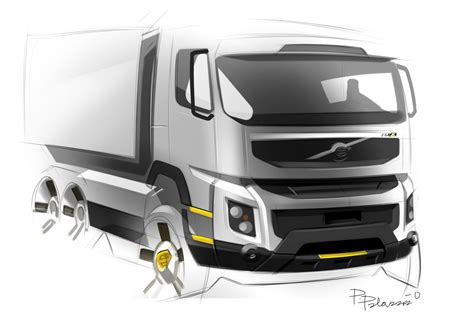 volvo truck design volvo trucks new fmx design carscoops