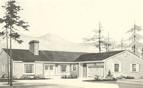 l shaped ranch house plans l shaped ranch mid century modern ranch exterior pinterest house plans vintage house
