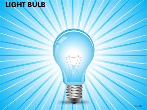 light bulb powerpoint   powerpoint