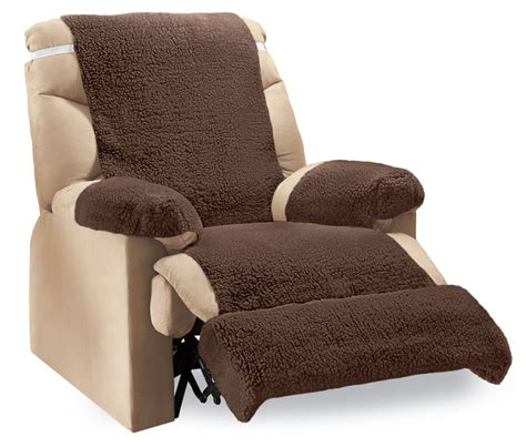 recliner footrest cover recliner fleece furniture covers 4 pc by collections