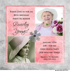 invite ideas s 80th birthday