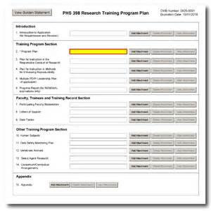 g 420 phs 398 research program plan form
