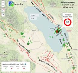 map of san andreas fault in southern california california issues one week earthquake advisory for san