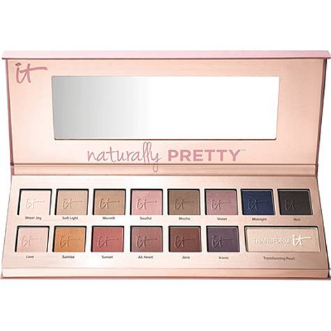 it cosmetics naturally pretty matte palette naturally pretty vol 1 matte luxe transforming eyeshadow