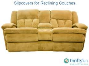 Slipcover For Recliner Sofa Slipcovers For Reclining Couches Thriftyfun