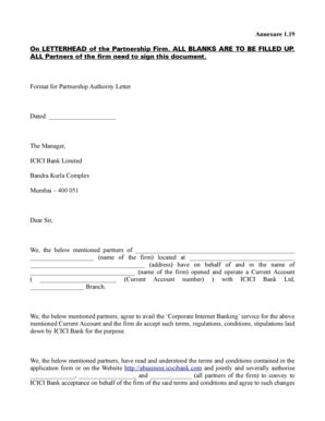 business partnership letterhead fillable on letterhead of the partnership firm all