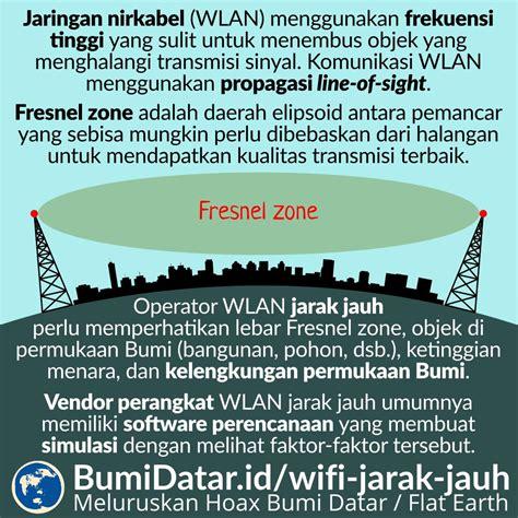 Wifi Jarak Jauh jaringan wi fi jarak jauh dan kelengkungan bumi bumidatar id