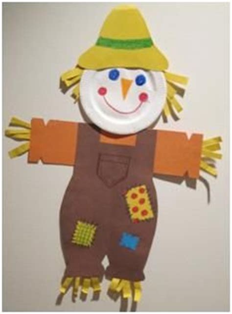 paper bag scarecrow craft for preschoolers kiboomu songs on