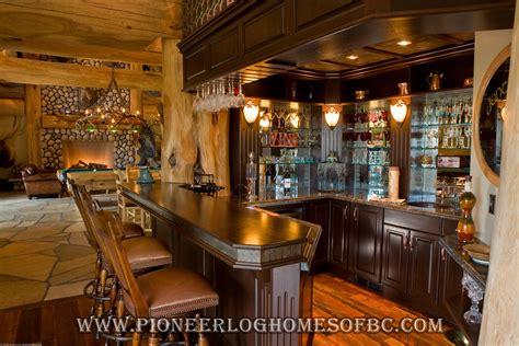 bars  games rooms log home  cabin interiors