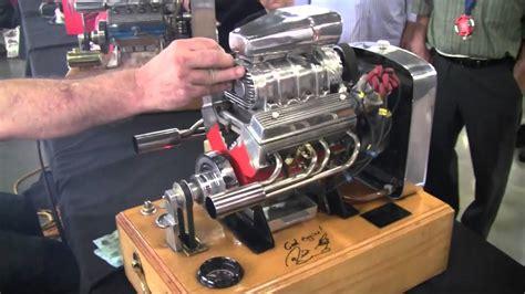 Strongest V8 Engine by Miniature Running Supercharged V8 Engine Viyoutube