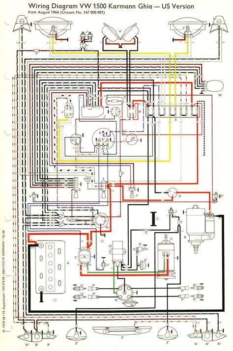 1969 vw beetle wiring diagram wiring diagram