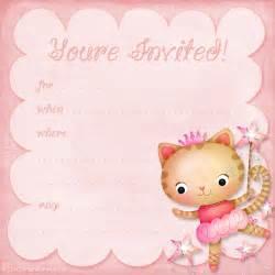 Free Princess Birthday Invitation Templates by Free Birthday Invitation Template Birthday
