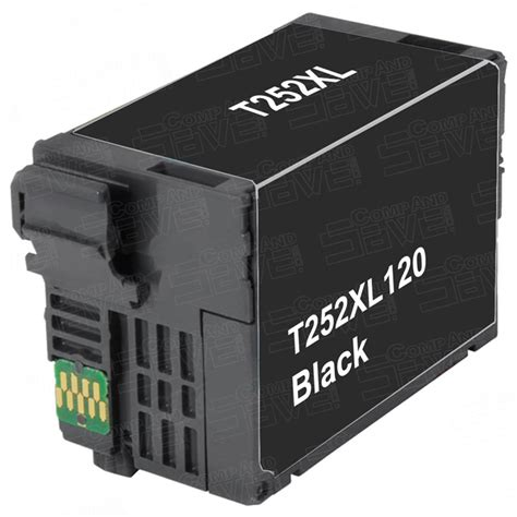 Ink Epson T1881 Black Epson T252xl120 High Yield Black Remanufactured Printer