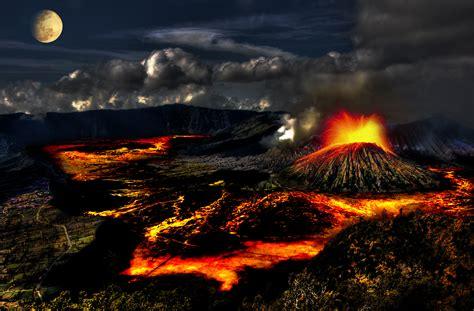 Volcano L by Mapa Los Volcanes De Tengger