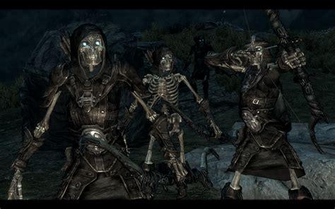 skyrim knight of skeleton armor mod armored skeletons and the walking dead polish at skyrim