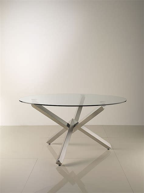 Glass Dining Table With Glass Base 55 Glass Top Dining Tables With Original Bases Digsdigs