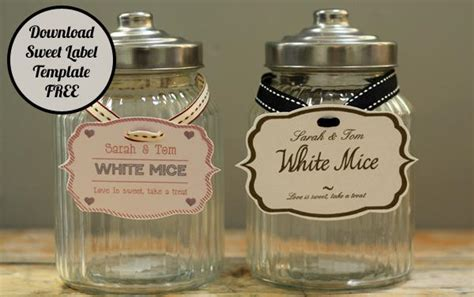 jar tags template personalised jar labels sweetie buffet