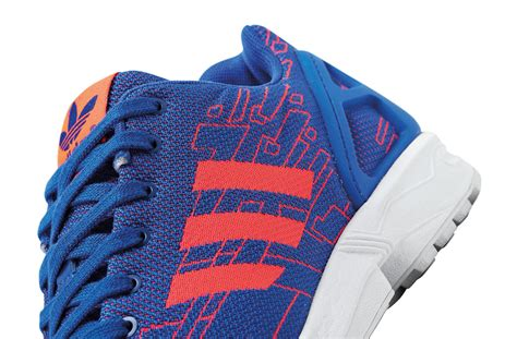 adidas zx flux blue pattern adidas zx flux weave pattern pack sole collector