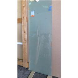 Solid Glass Shower Doors Glass Shower Door 3 8 Quot Solid Etch 24 7 8 Quot X 75 1 4 Quot Clear Tempered 1171 Retail