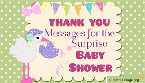 Thank You For Baby Shower At Work by Thank You Messages For Baby Shower At Work