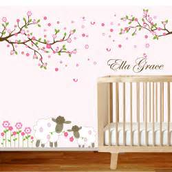 nursery wall decal grasscloth wallpaper baby decals birch trees youtube