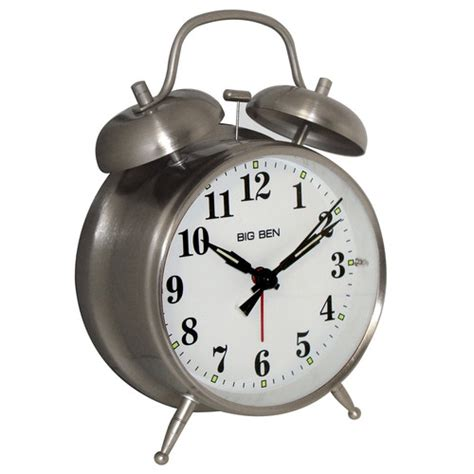 westclox big ben classic metal alarm clock reviews wayfair