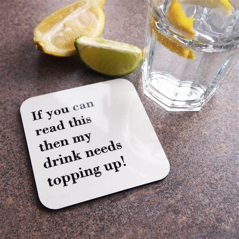 Drink Coaster if you can read this fill my drink coaster by coconutgrass