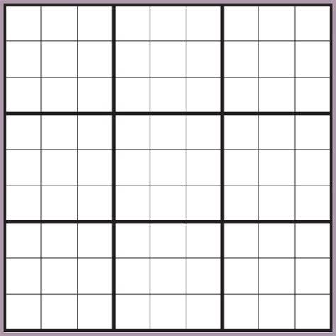 printable blank sudoku template sudoku blank worksheets resultinfos