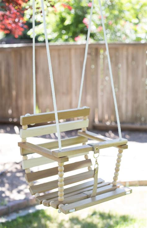 diy swing diy tree swing for baby