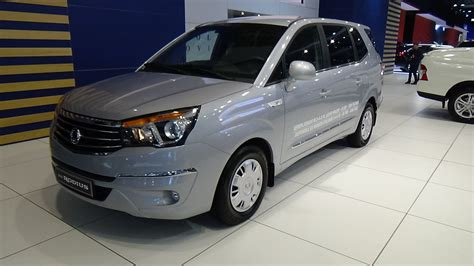 ssangyong rodius interior 2016 ssangyong rodius exterior and interior auto