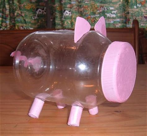 How To Make A Piggy Bank Out Of Paper Mache - mayonnaise jar piggy bank thriftyfun