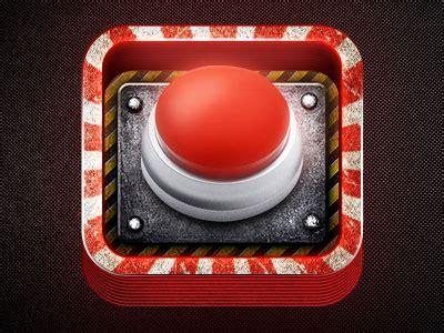 Design Brief Of A Panic Button | app icon design panic alarm button by creativedash