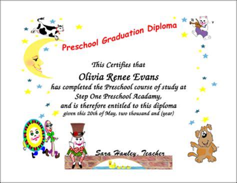 Design Bloggers At Home Book by Graduation Certificates Preschool Kindergarten Graduation