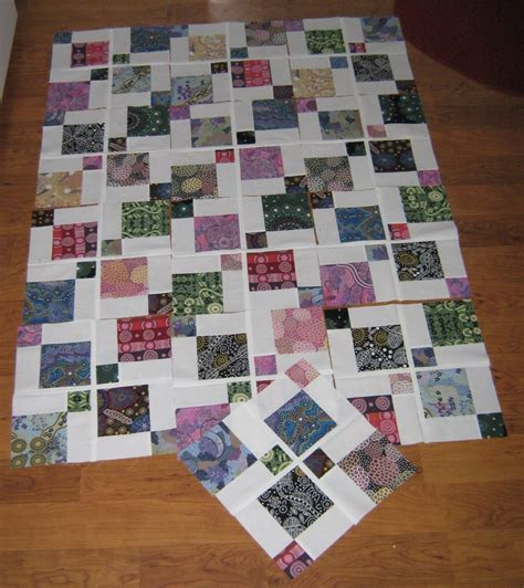 Disappearing Nine Patch Quilt Patterns by Disappearing 9 Patch Australia Quilt Part 2 Nita Collins
