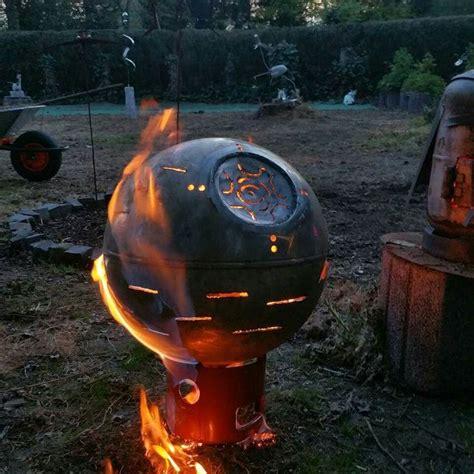feuerstelle todesstern 26 besten todesstern feuerschale feuerstelle bilder auf