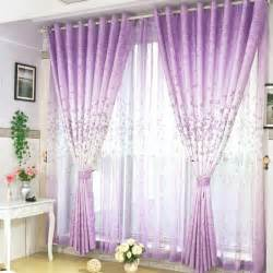 grey and lilac curtains images