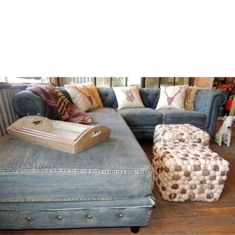 denim sectional couch denim sectional sofa 41 best denim couch images on