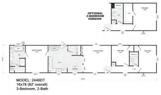 Single Wide Trailer Floor Plans Single Wide Floorplans Mccants Mobile Homes