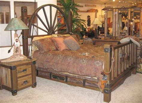 wagon wheel bedroom set wagon wheel bed frame 28 images wildwoods barnwood