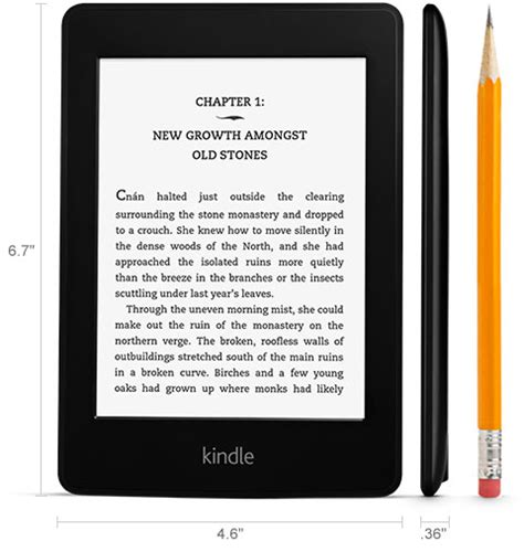 amazon kindle store amazon com amazon kindle paperwhite 6 inch wi fi with