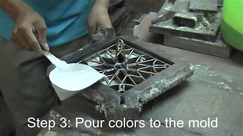 How To Make Handmade Tiles - how to make cement tile doovi