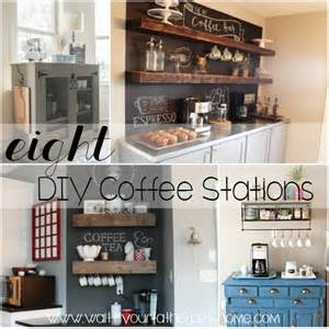 Hgtv Home Decorating 8 Diy Kitchen Coffee Stations Wait Til Your Father Gets Home