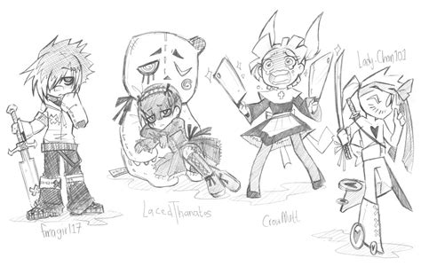 Free Sweepstakes 2014 - free oc giveaway 2014 3 by brokendeathangel on deviantart