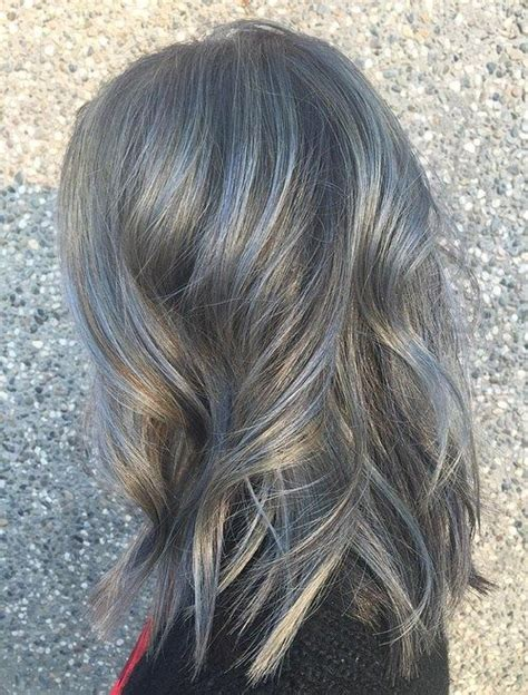 what color to highlight salt and pepper hair 1738 best peinados looks images on pinterest