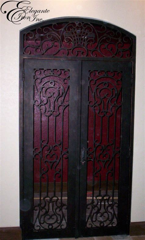 Interior Wrought Iron Doors 39 Best Images About Wine Doors And Other Elegante Iron