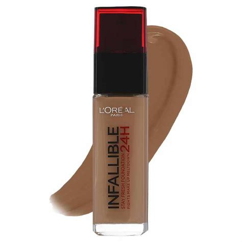 L Oreal Infallible Stay Fresh Foundation l oreal cosmetics infallible 24h stay fresh