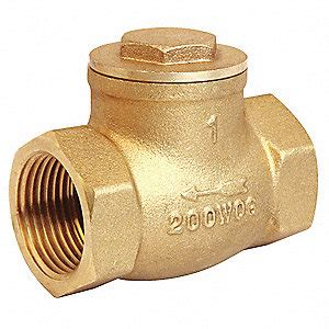 1 inch swing check valve grainger approved swing check valve brass 1 1 2 in npt