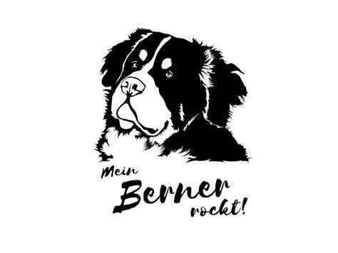 Aufkleber Auto Hunderassen by Berner Sennenhund Hunderasse Aufkleber Tierisch Tolle